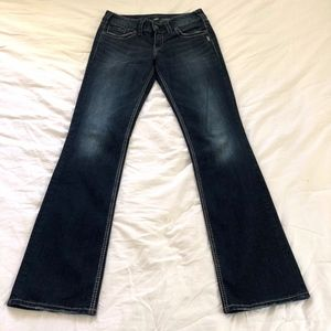 Silver Jeans Co Suki Slim Boot Cut Size 28